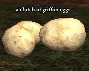 A clutch of griffon eggs from Everquest 2