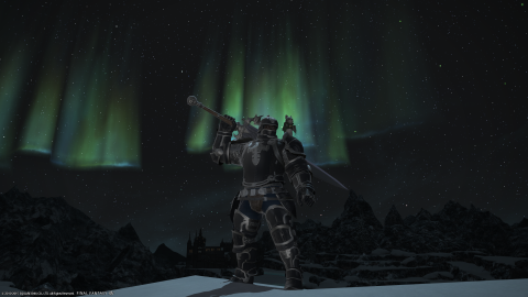 Dark Knight and Northern Light