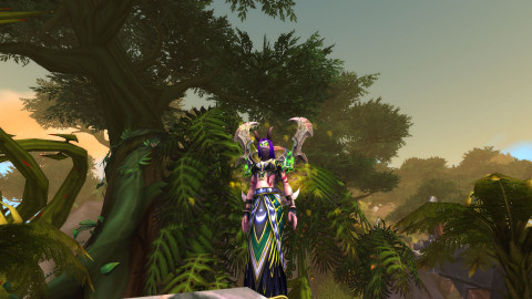 A demon hunter transmog from WoW.